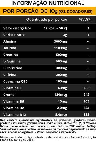 Pré Treino Euronutry Êxodo de Limão 300G