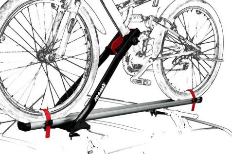 Suporte de Bicicleta para carro Eqmax Velox Aluminium
