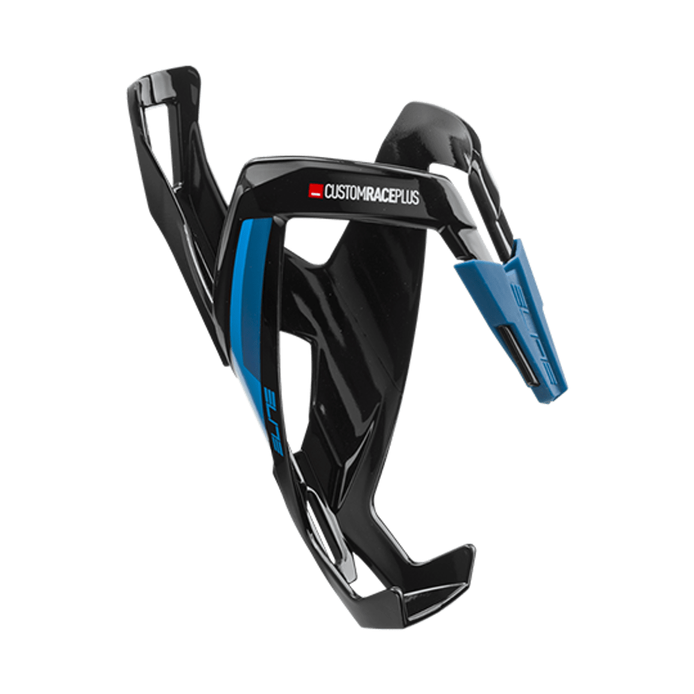 Suporte De Garrafa Elite Custom Race Plus Azul/Preto