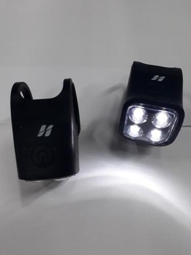 VISTA LIGHT DIANT/TRAS 4 LED SILICONE P/GARFO E CANOTE HIGH ONE ON