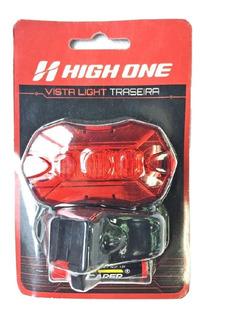 VISTA LIGHT TRAS 5 LEDS HEXAGONAL C/BATERIA VMO Ref: HOLUZ0027 Marca: HIGH ONE ON
