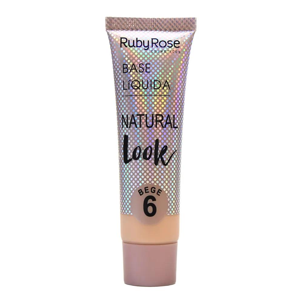 Base Líquida Natural Look Bege 6 - Ruby Rose