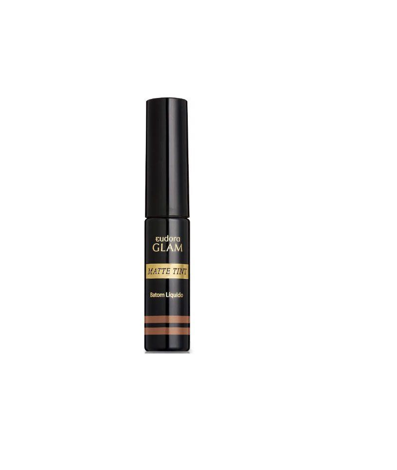 Batom Líquido Matte Glam Tint Nude Classico 4,0g - Eudora