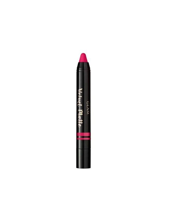 Batom Retrátil Glam Velvet Matte Pink 1,8g - Eudora