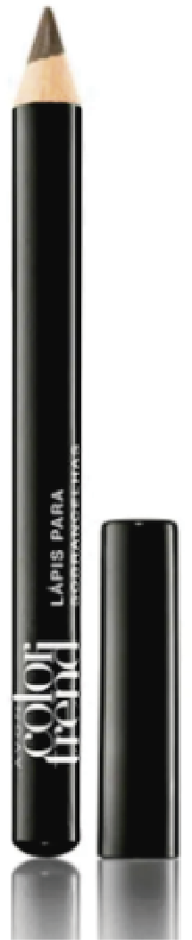 Lapis Delineador Matte para Olhos Preto Color Trend 1,2g - Avon
