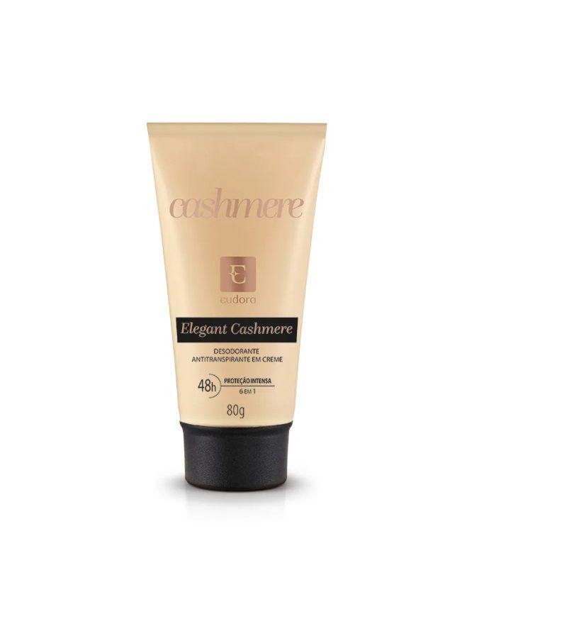 Desodorante Antitranspirante Creme Elegant Cashmere  80g - Eudora