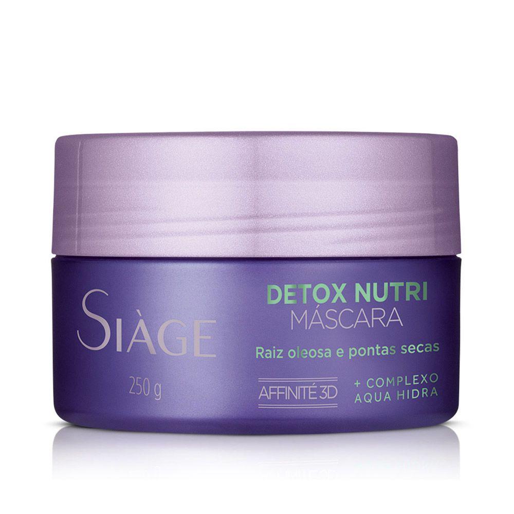 Detox Nutri Máscara Capilar Siàge 250ml - Eudora