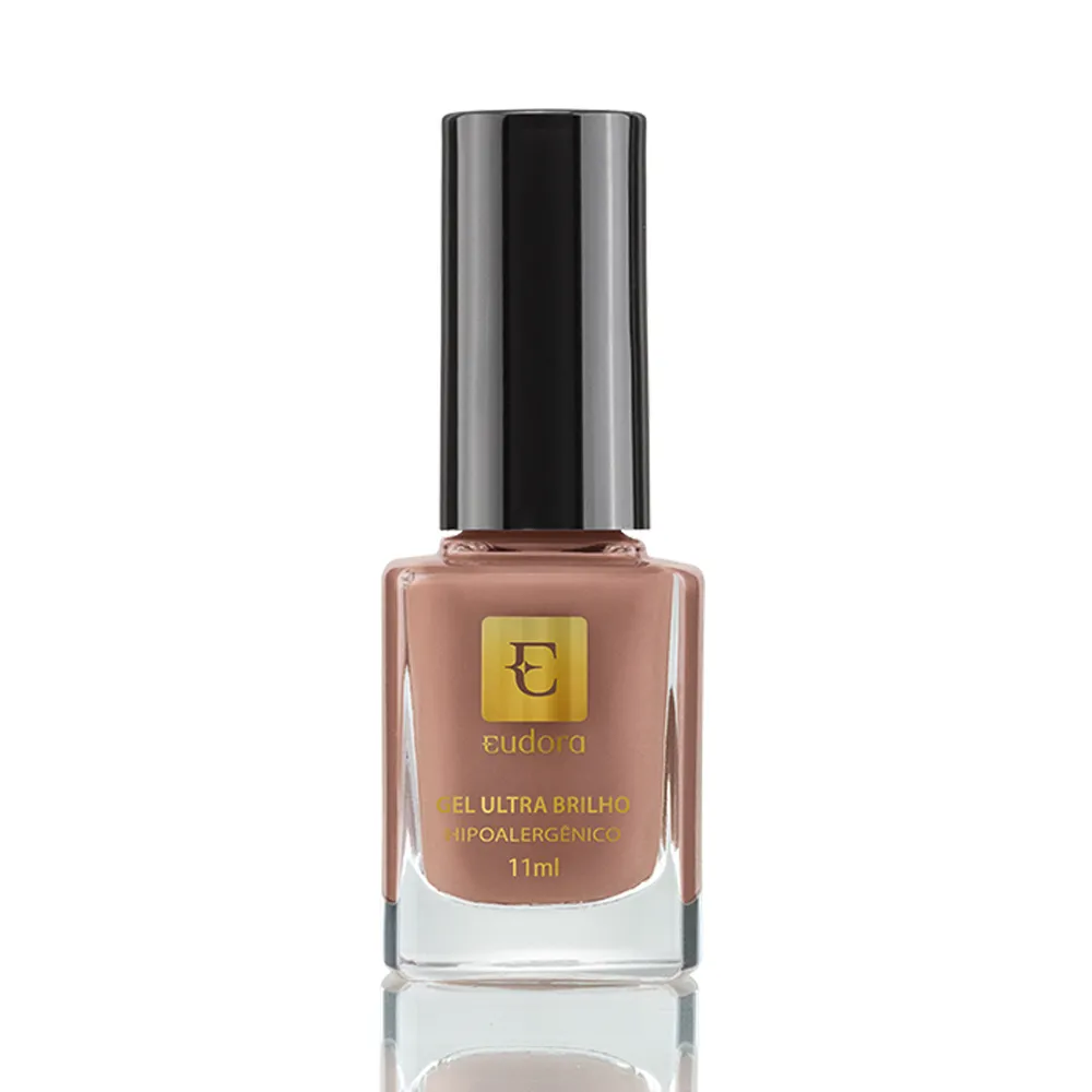 Esmalte Gel Ultra Brilho Taupe Exclusivo 11ml - Eudora