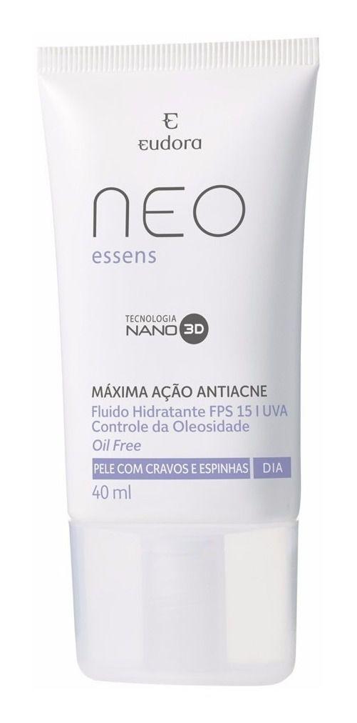 Hidratante Neo Essens para Cravos e Espinhas Noite 40ml - Eudora