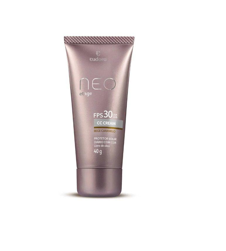 Protetor Solar Cc Cream N/Etage Bege Caramelo Fps30 40g - Eudora