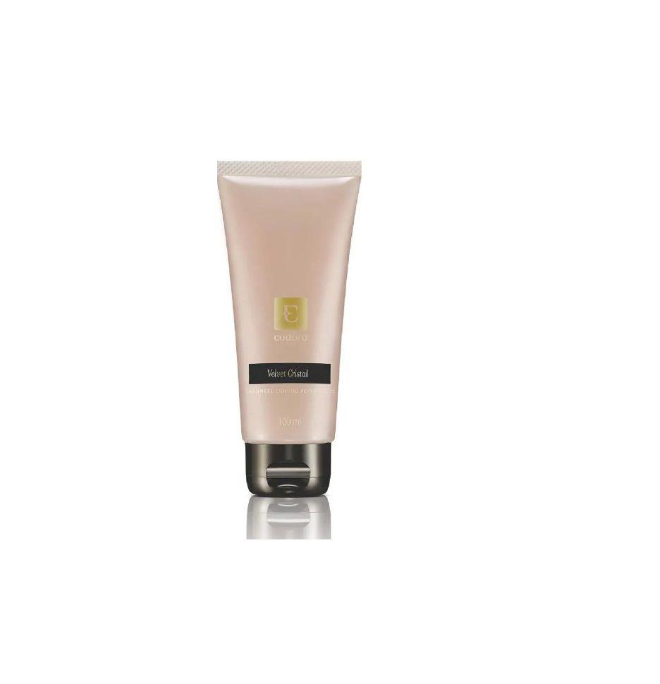 Sabonete Líquido Perfumado Velvet Cristal 100 Ml - Eudora