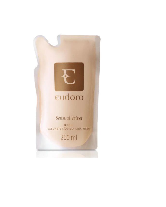Sabonete Líquido Sensual Velvet Refil Para Mãos 260ml - Eudora