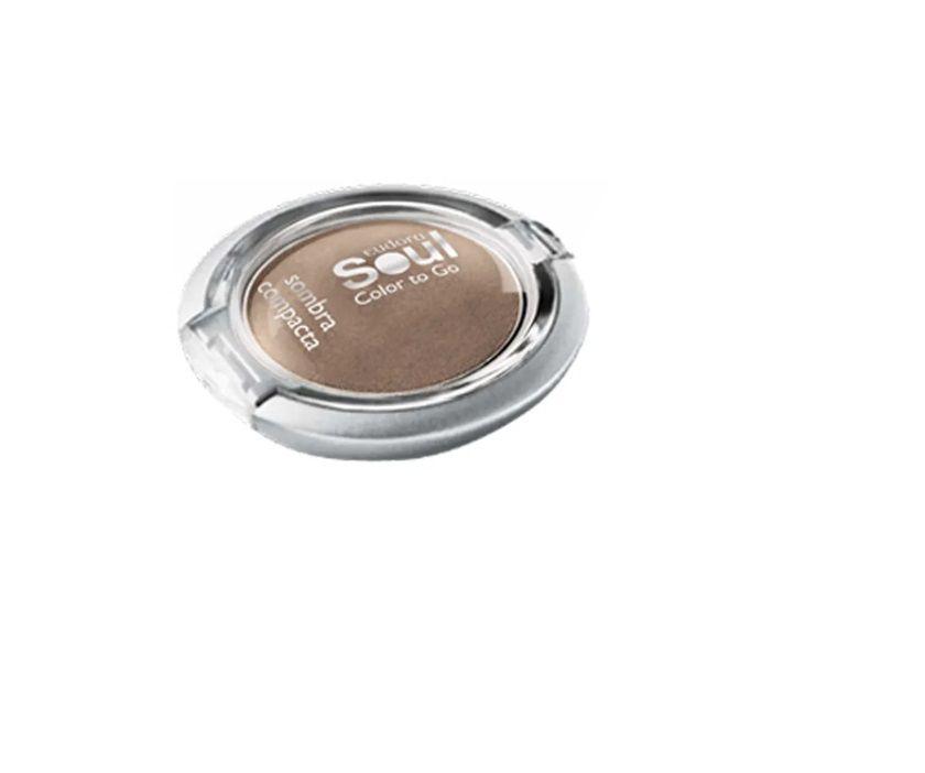 Sombra Compacta Soul Color To Go Marrom Nut 2g - Eudora