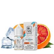 Líquido Red Orange ICE - SaltNic / Salt Nicotine PLUS - BLVK