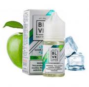 Líquido Sour Apple ICE - SaltNic / Salt Nicotine PLUS - BLVK