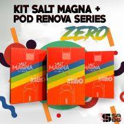 POD SYSTEM ZERO KIT + Nic Salt Magna - Edição Limitada