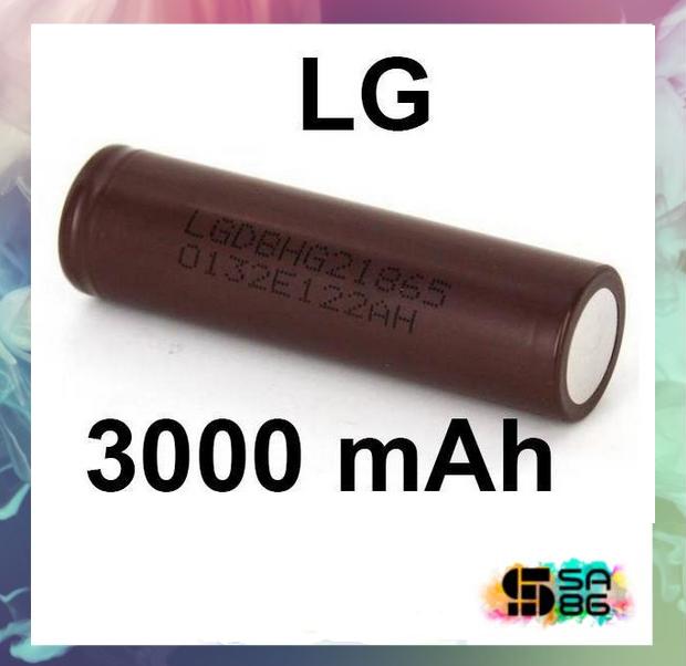 BATERIA 18650 LG (CHOCOLATE) 3.6V 3000MAH