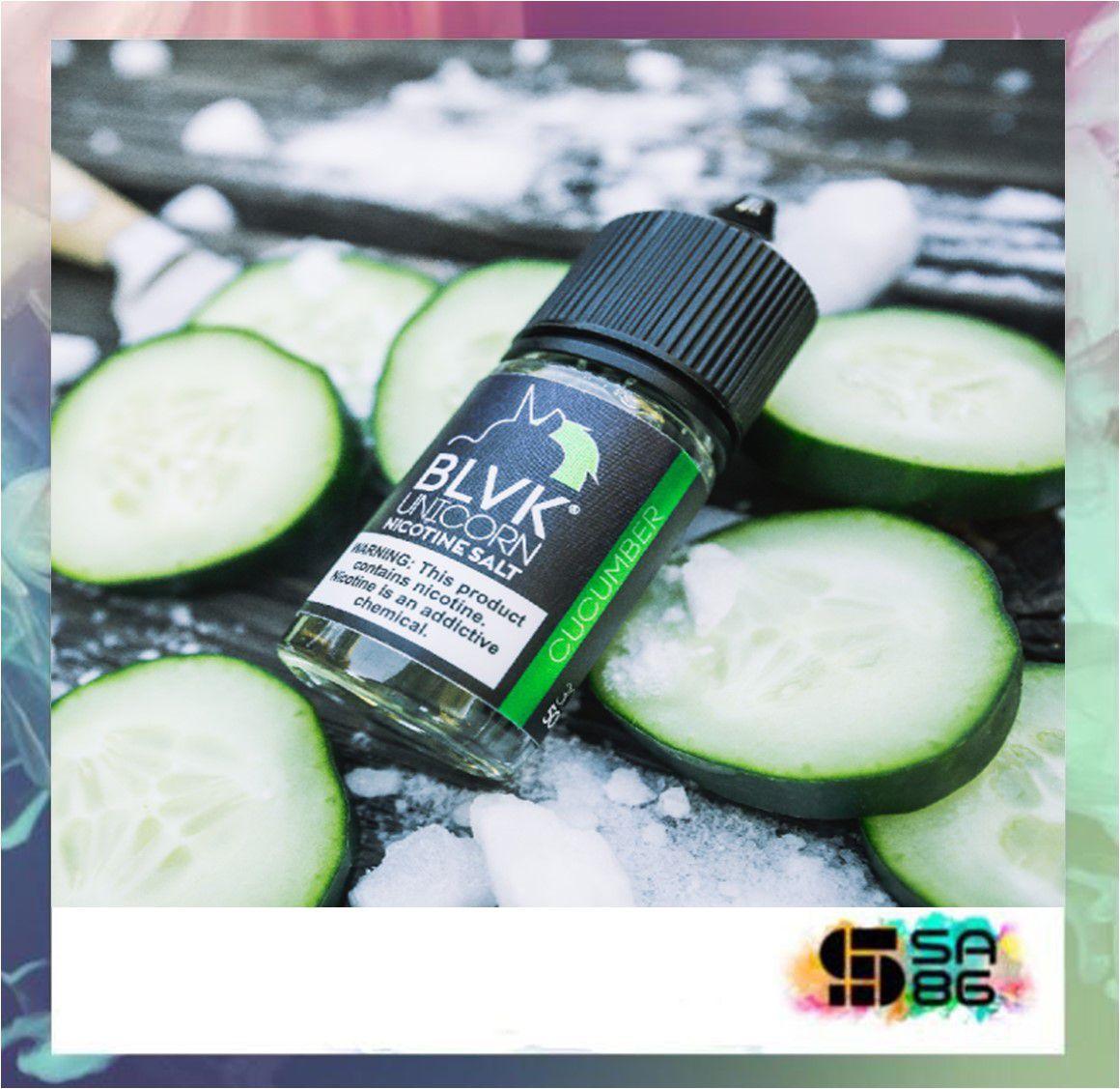 BLVK UNICORN NIC SALT 30 ML - Cucumber