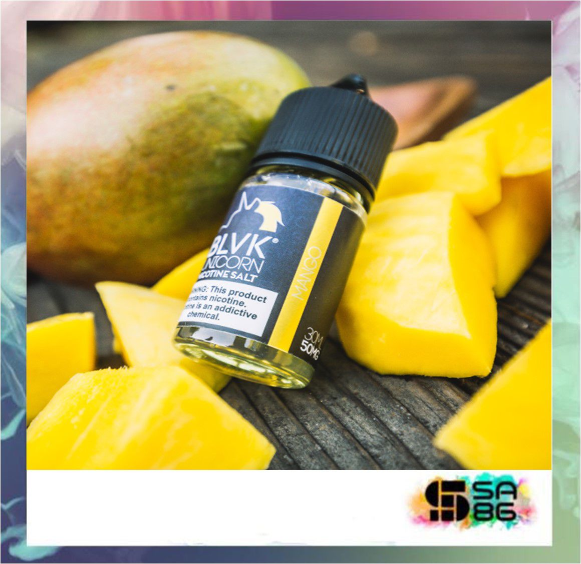 BLVK UNICORN NIC SALT 30 ML - Mango