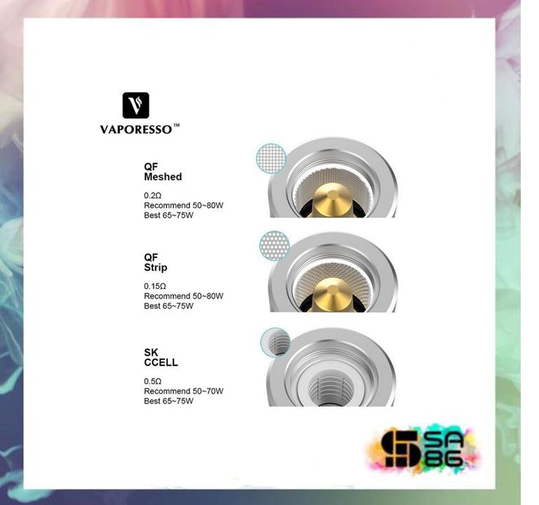 Coil QF e SK (Luxe) (unidade)