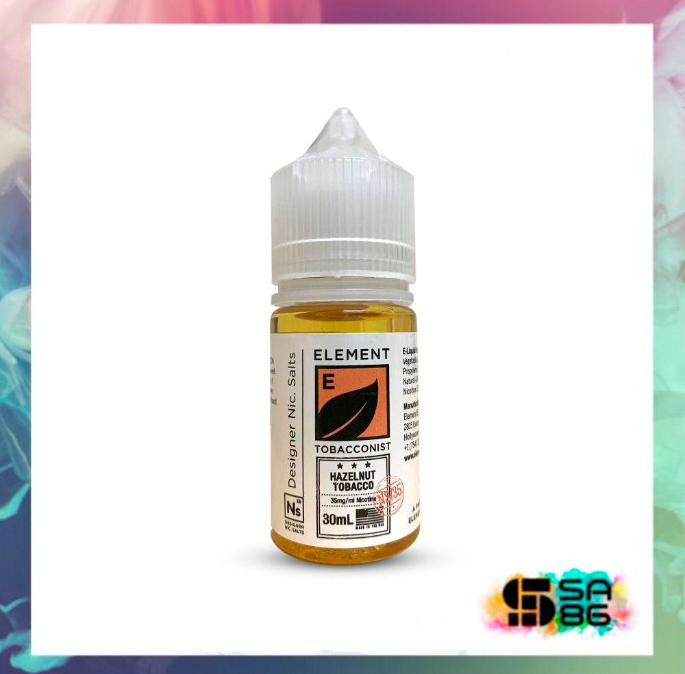 ELEMENT NIC SALT 30 ML - HAZELNUT TOBACCO