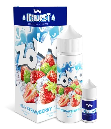 JUICE ZOMO - STRAWBERRY ICE (Morango Gelado) 30ML