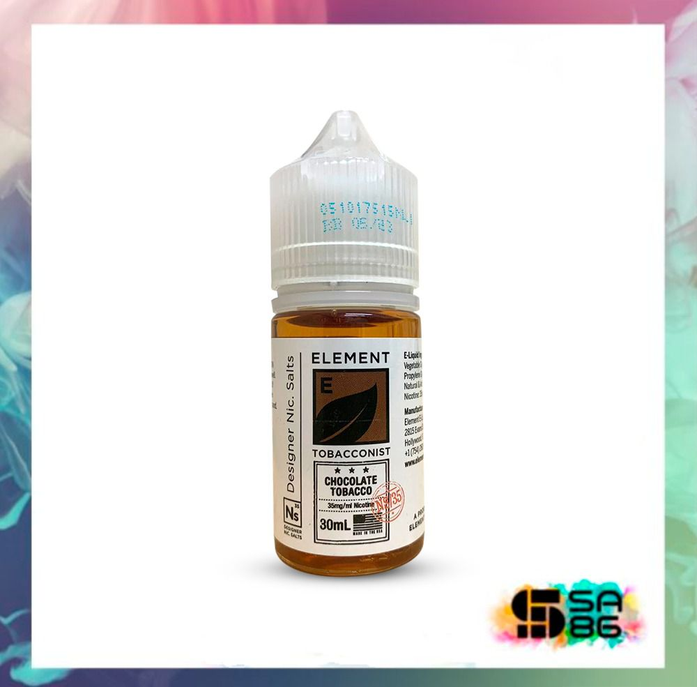 ELEMENT NIC SALT 30 ML - CHOCOLATE TOBACCO