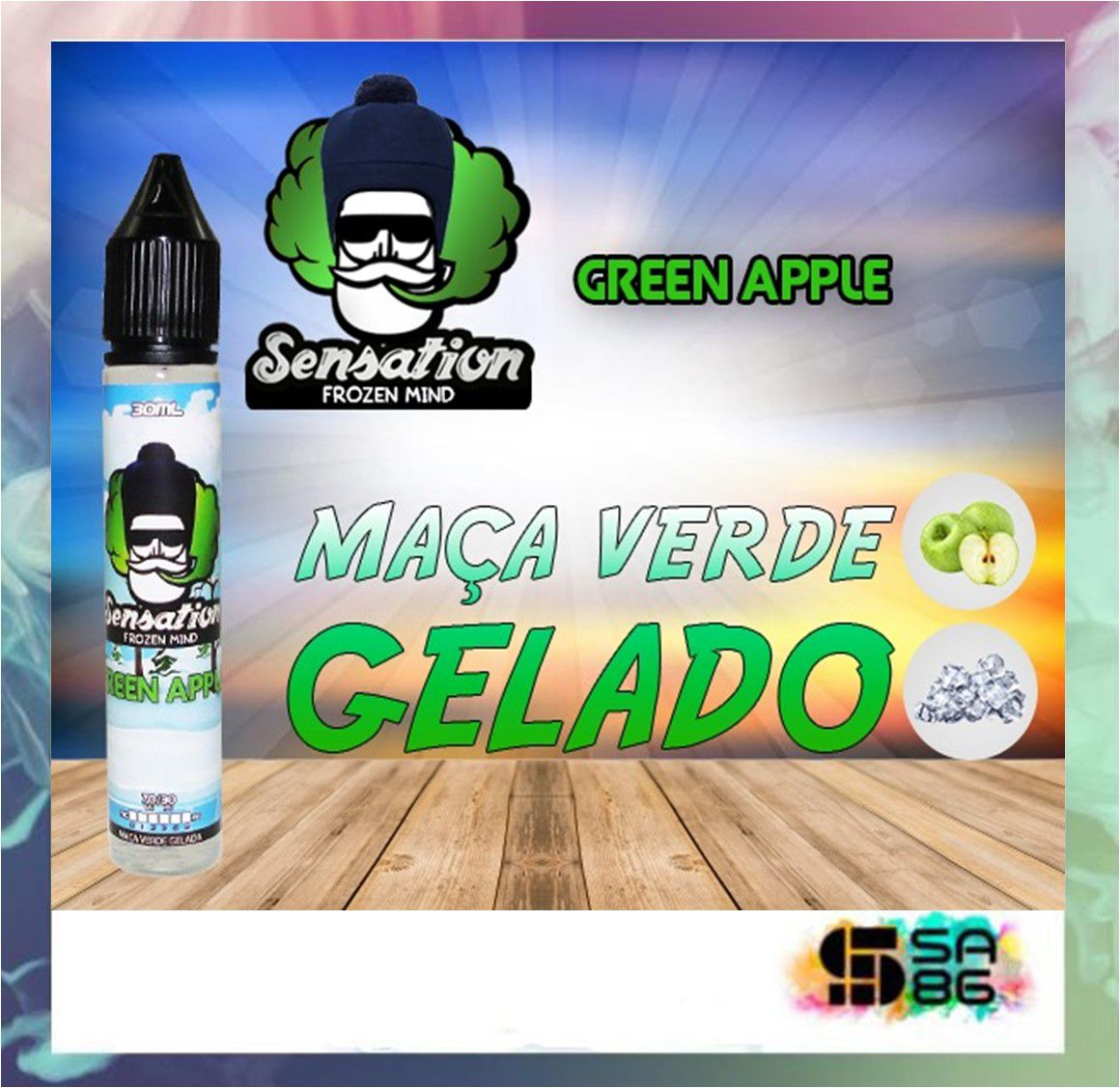 JUICE SENSATION - GREEN APPLE