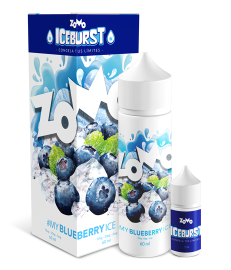 JUICE ZOMO - BLUEBERRY ICE 30ML