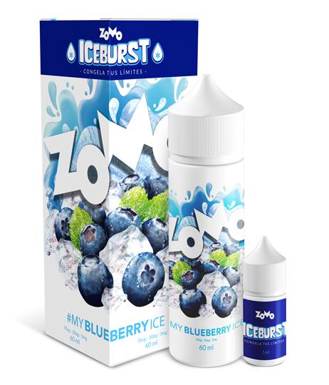 JUICE ZOMO - BLUEBERRY ICE 60ML