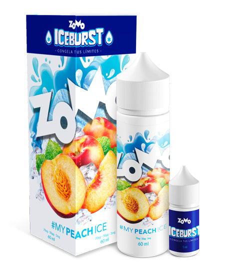 JUICE ZOMO - PEACH MIX ICE (Pêssego Gelado) 30ML