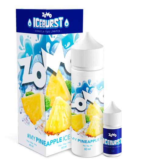 JUICE ZOMO - PINEAPPLE ICE (Abacaxi Gelado) 30ML