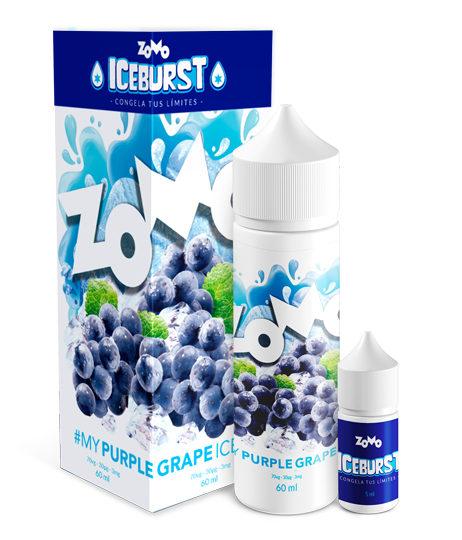 JUICE ZOMO - PURPLE GRAPE ICE (Uva Gelado) 30ML