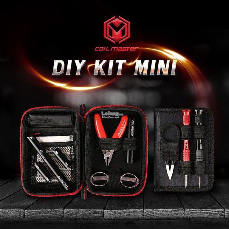 Kit de Ferramentas para Vaper Coil Master Diy Kit Mini
