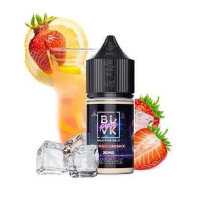 Líquido - Iced Berry Lemonade - SaltNic / Salt Nicotine Pink - BLVK