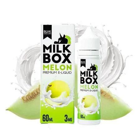 LIQUIDO MELON - MILK BOX PREMIUM E-LIQUID - BLVK 60ML
