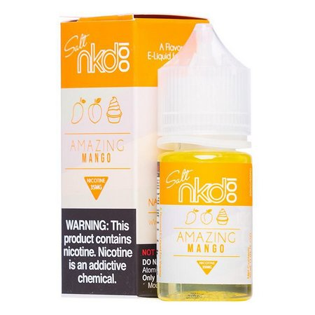 NAKED NIC SALT 30 ML - AMAZING MANGO ICE