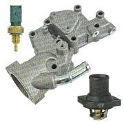Carcaça completa válvula termostática - Peugeot 206, 207, Citroën C3