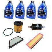 Kit revisão troca de óleo e filtros - Peugeot 207 1.4 8v 2009/...