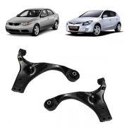 Par de bandeja de suspensão sem pivô - Hyundai I30, Elantra 2007 a 2012, Magentis 2.0 2006 a 2010, Cerato 2009/...
