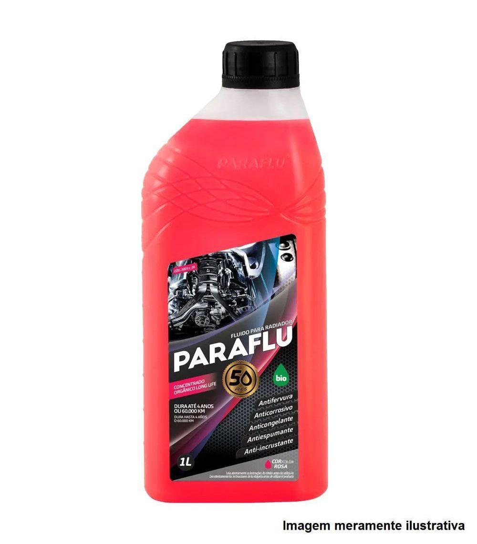 Aditivo Concentrado Para Radiador (Rosa) 1L - PARAFLU