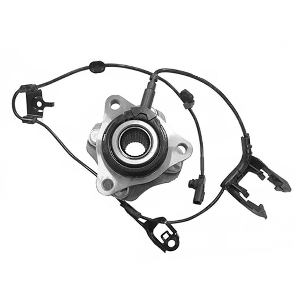 Cubo de roda dianteiro com rolamento e abs (Lado direito) - Toyota Etios