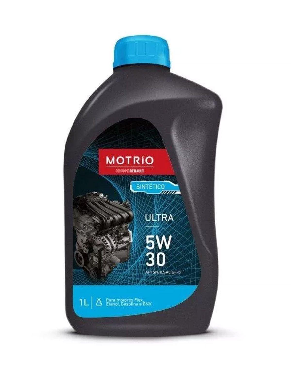 Óleo de motor sintético - 5w30
