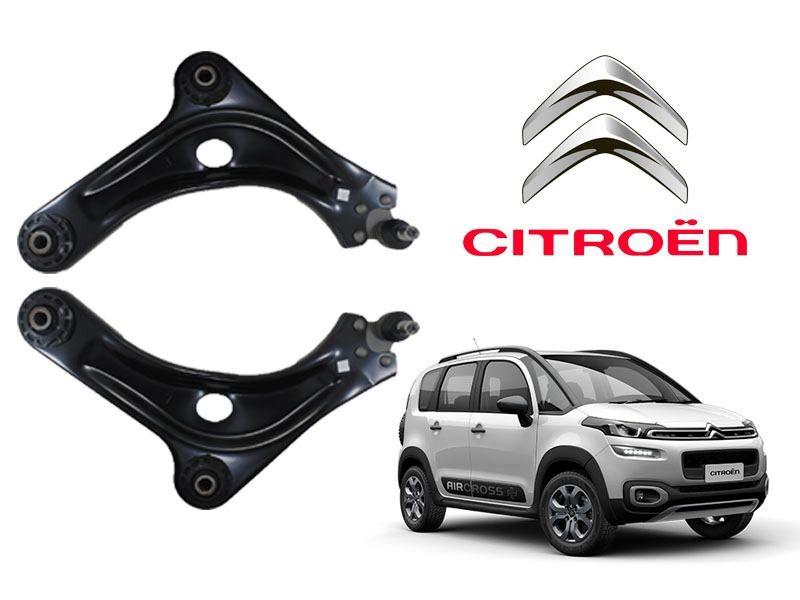 Par de bandeja de suspensão com pivô - Citroën Air Cross, C3 Picasso