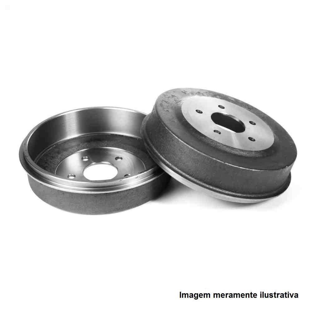 Par de tambor de freio com rolamento - 106 1.4 8v, 206 1998/... 207 1.4 8v