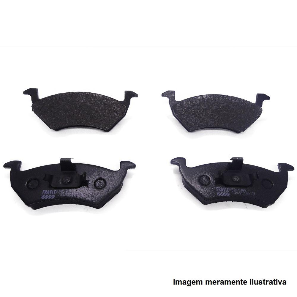 Pastilha de freio dianteiro - Honda Civic 1.6 16v 1998 a 2000 / Civic 1.7 16v 2000 a 2006, New Civic 2006 a 2011