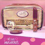 Kit das Mulheres - Batom Líquido Matte + Sombra