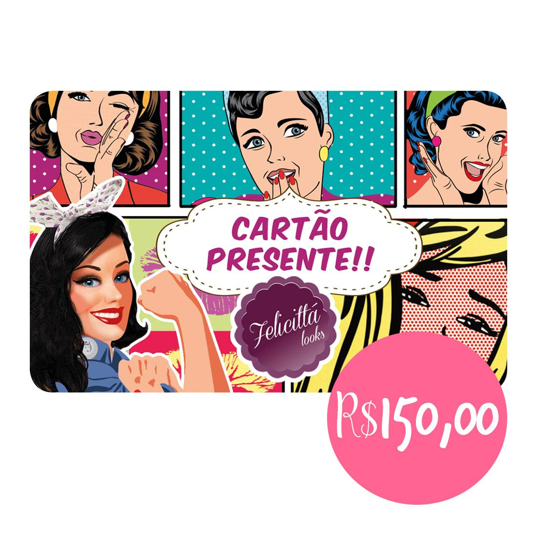 CARTÃO PRESENTE 150