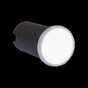 Balizador LED Romalux 10089 Soft Redondo 2W 2700K IP66 Bivolt Ø50x87mm Branco