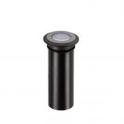 BALIZADOR LED STELLA STH8703/AB MINI SPUR 0,5W ÂMBAR IP67 BIVOLT PRETO